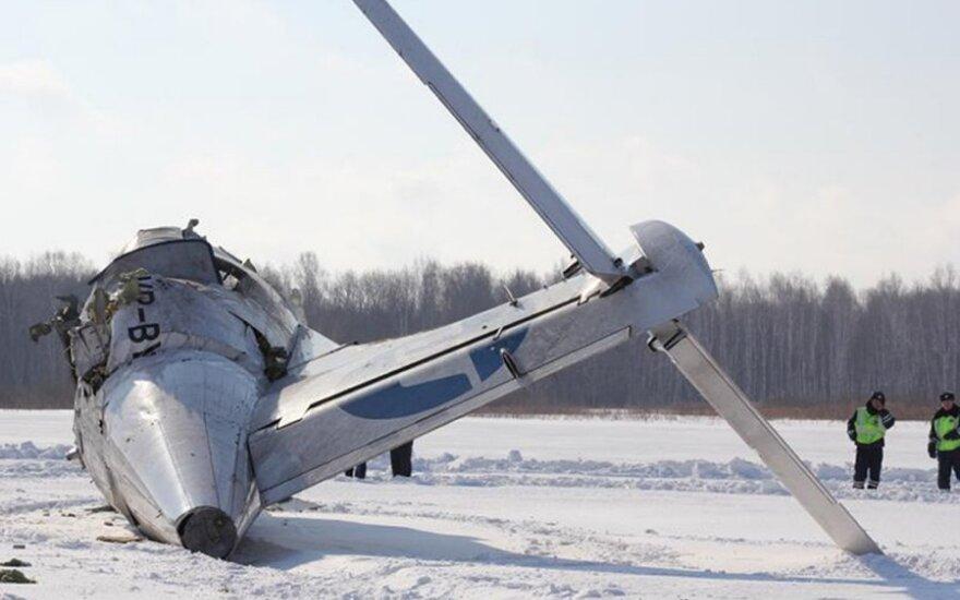 """Sibire sudužo """"UTair"""" lėktuvas"""