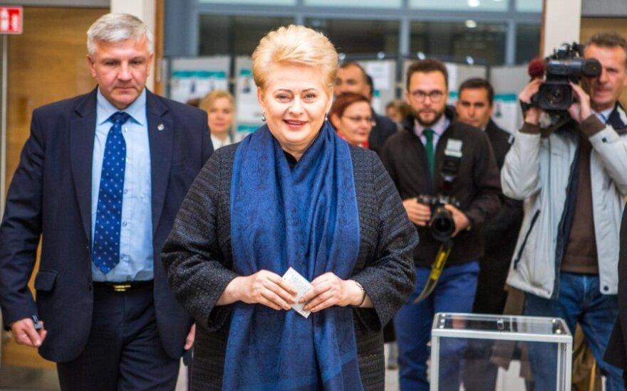 Президент Литвы: люди голосовали за перемены