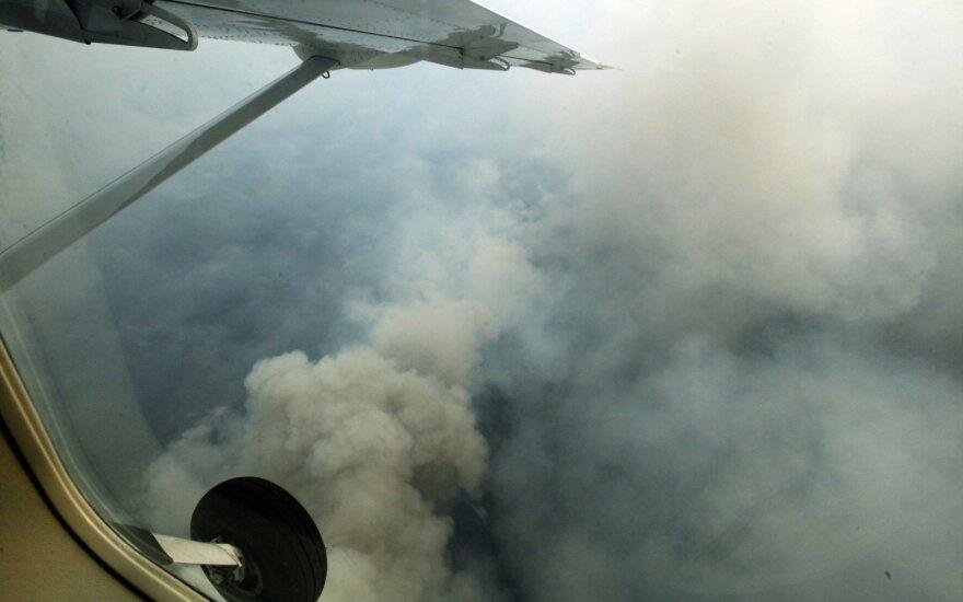 Rusijoje gesinami miškų gaisrai