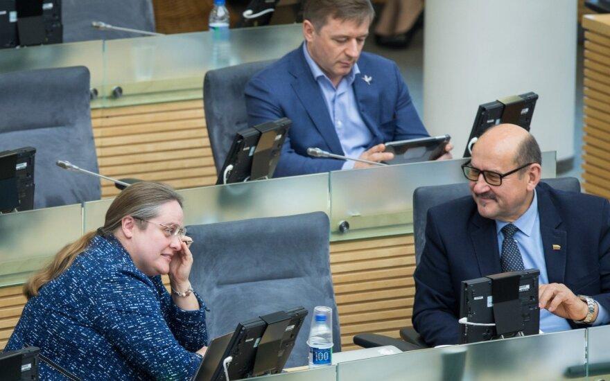 КНБО Сейма Литвы отказался предоставлять информацию комиссии под руководством Ширинскене