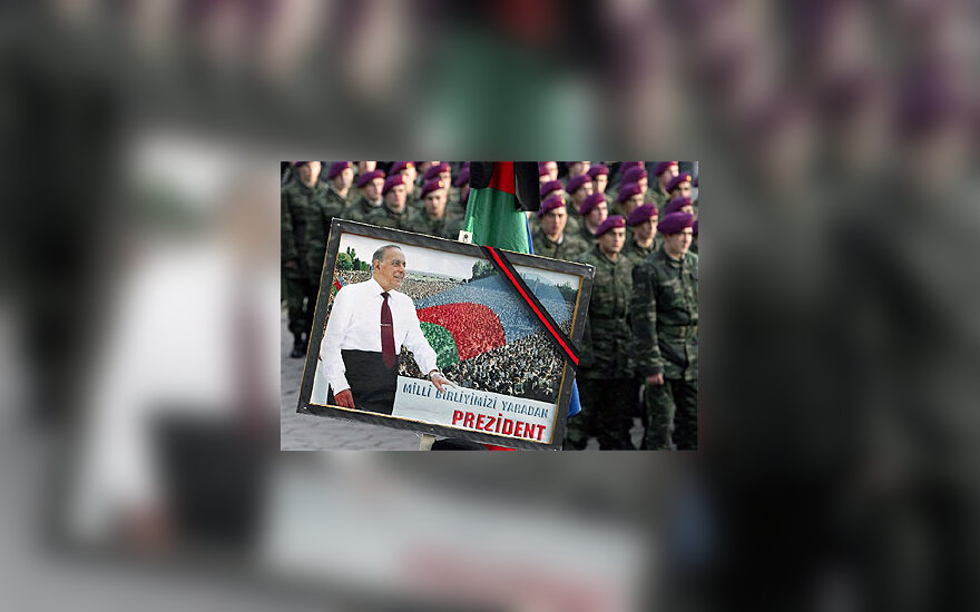 Azerbaidžanas atsisveikina  su  H.Alijevu