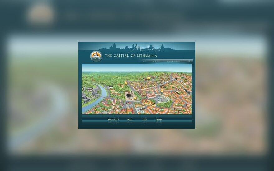 На диске – интерактивная прогулка по Вильнюсу