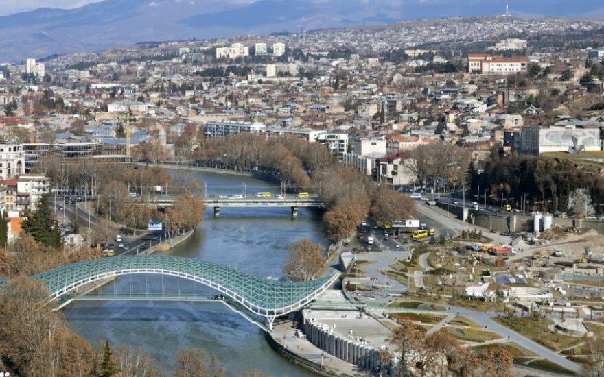 В Тбилиси более часа не было электричества