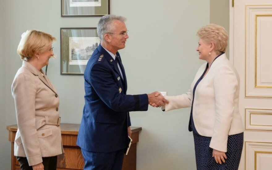 Грибаускайте: транзит НАТО выгоден для Литвы