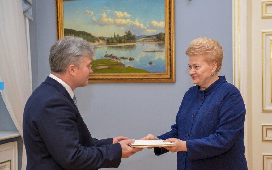 К работе послом Литвы в Польше приступает Эдуард Борисов