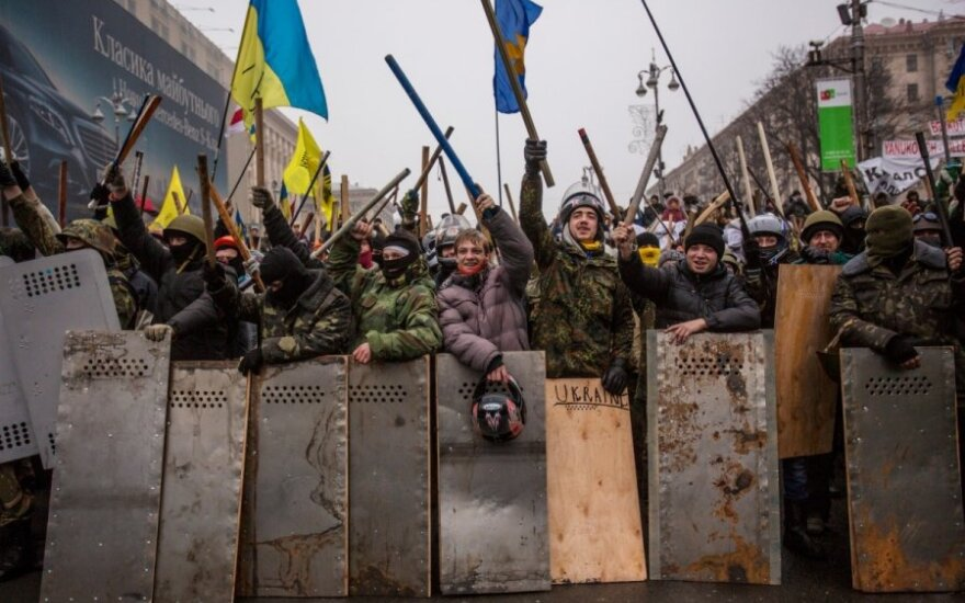 В Литву доставлен четвертый пострадавший в ходе протестов украинец