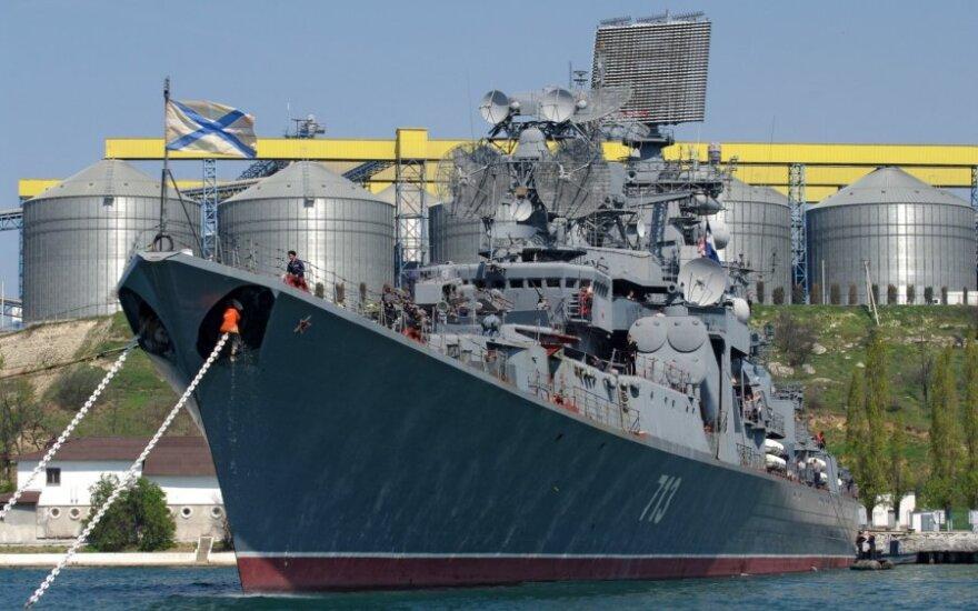 Rusijos Juodosios jūros laivyno laivas