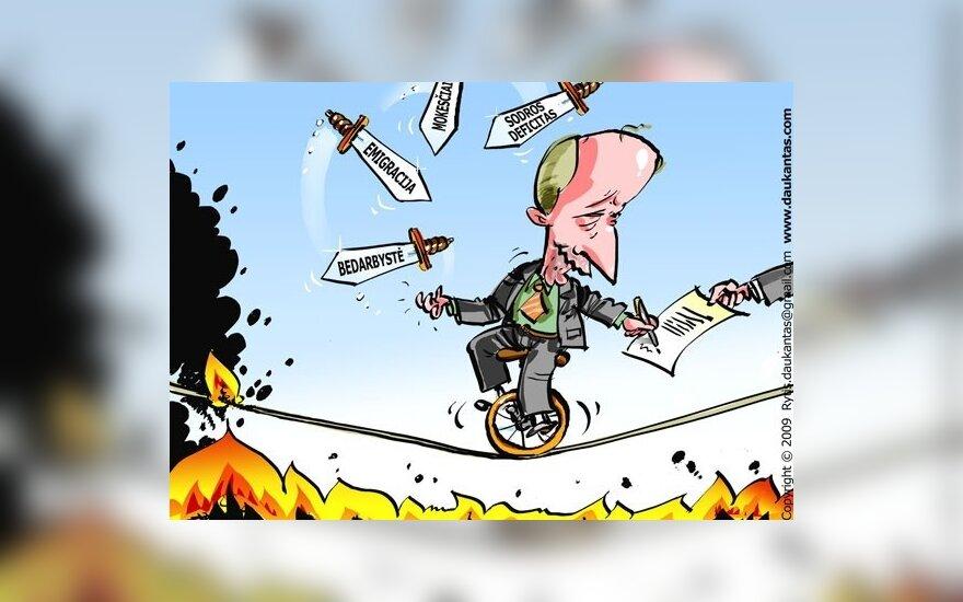 Нелюбимый политик – премьер-министр Кубилюс