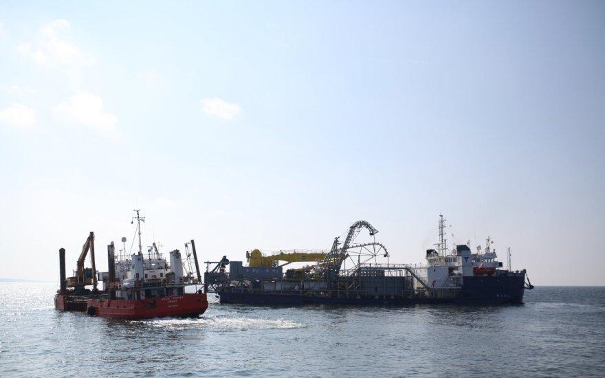 Министр: российское судно препятствовало прокладке кабеля NordBalt