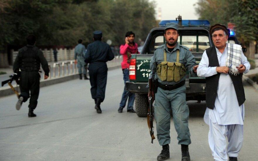 Afganistane susprogdino buvusį prezidentą