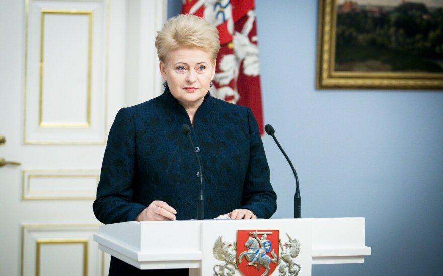 Президент в работе Сейма Литвы больших ошибок пока не видит