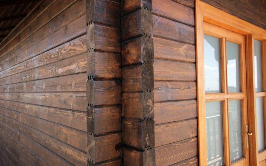 Литовские деревянные дома уже не пользуются спросом в Скандинавии
