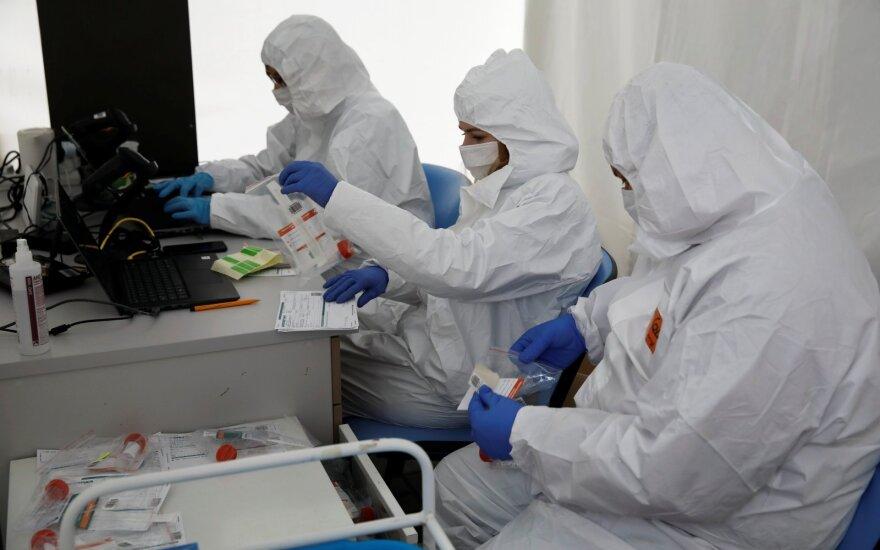 В Литве около 55 активных очагов коронавируса