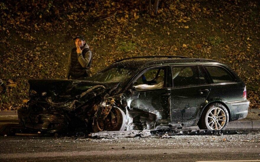 ДТП в Вильнюсе: двое пострадавших доставлены в больницу