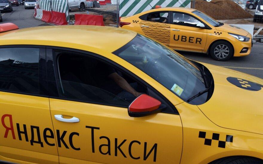 """Дирекция автотранспорта решила заблокировать """"Яндекс.Такси"""" в Латвии"""
