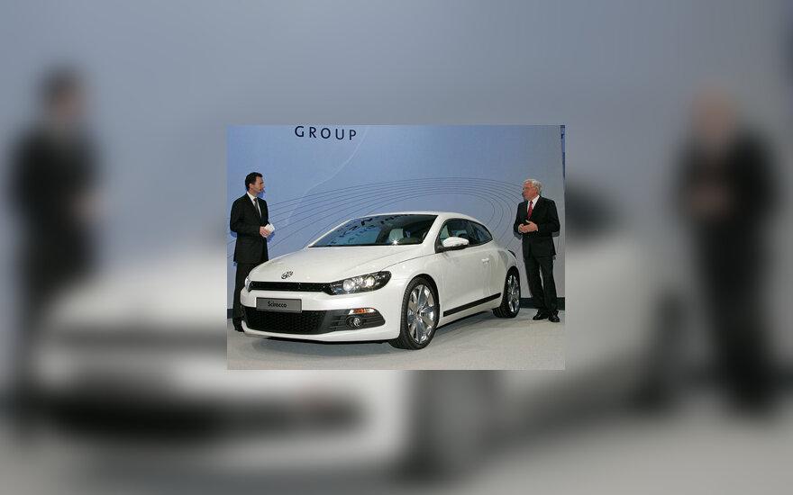 """""""Volkswagen Scirocco"""" Ženevos parodoje"""