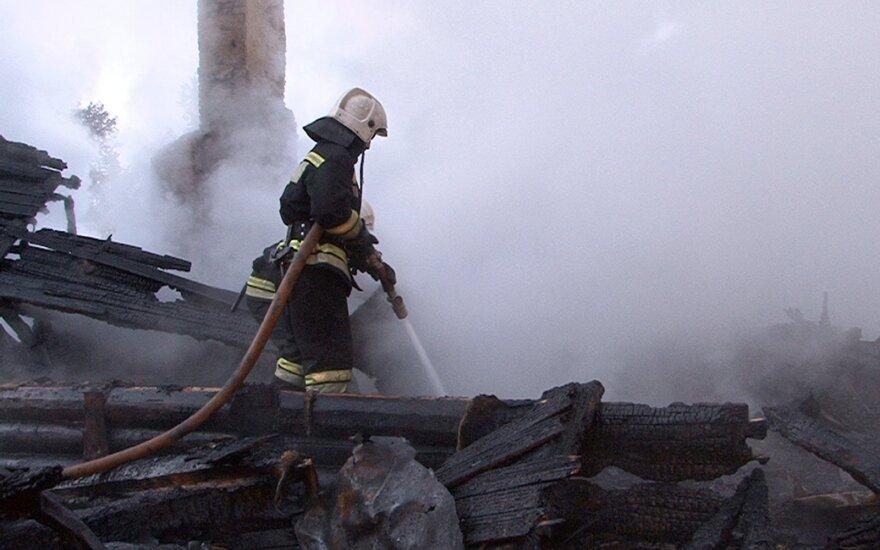 Per gaisrą psichiatrijos ligoninėje Rusijoje dingo dešimtys žmonių