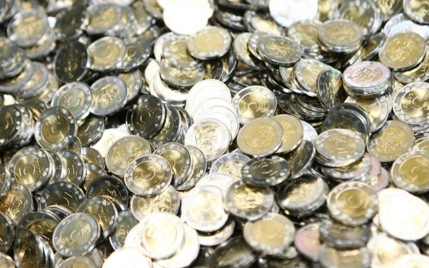 Monetų kalykla, pinigai, litai, finansai, ekonomika