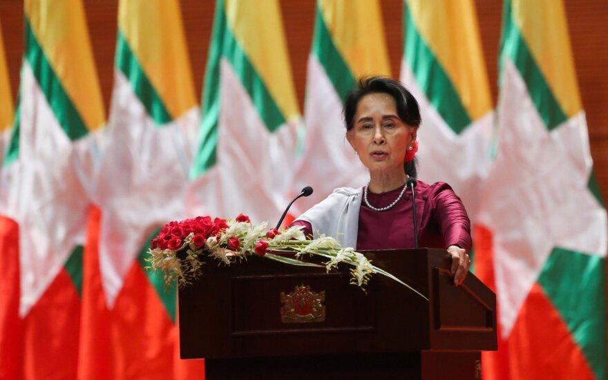Государственный советник заявила, что Мьянма не боится критики из-за рохинджа