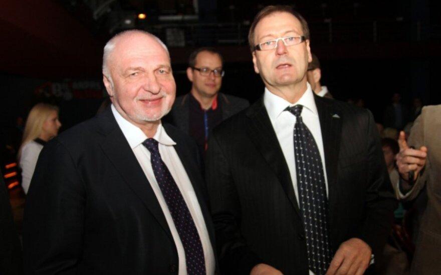 Valentinas Mazuronis ir Viktoras Uspaskichas