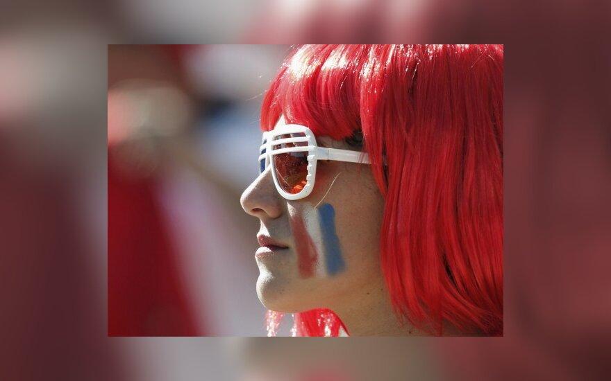 Čilės ir Hondūro mačas pasaulio futbolo čempionate