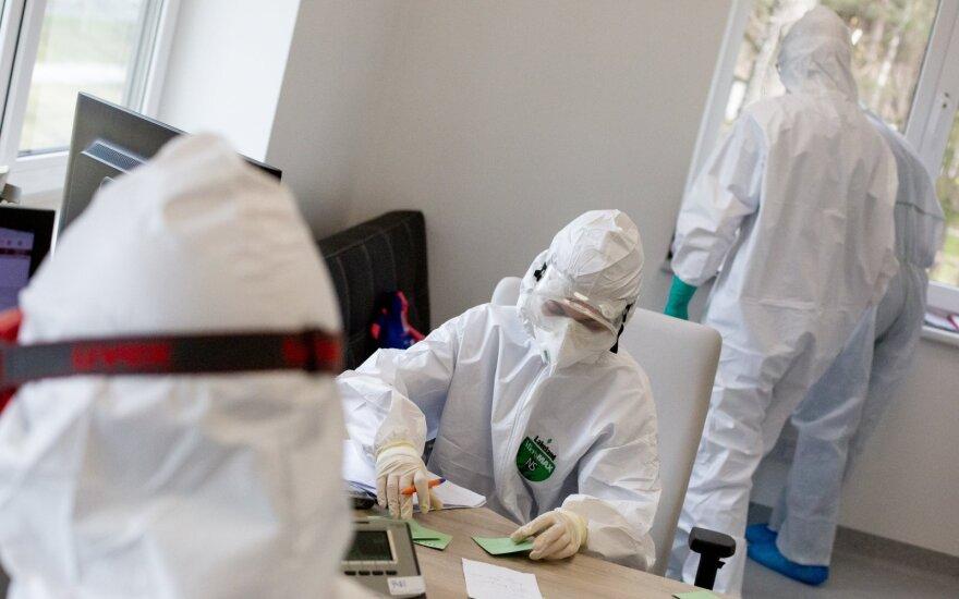 За сутки в Литве подтверждено 1152 новых случаев COVID-19, 8 человек умерли