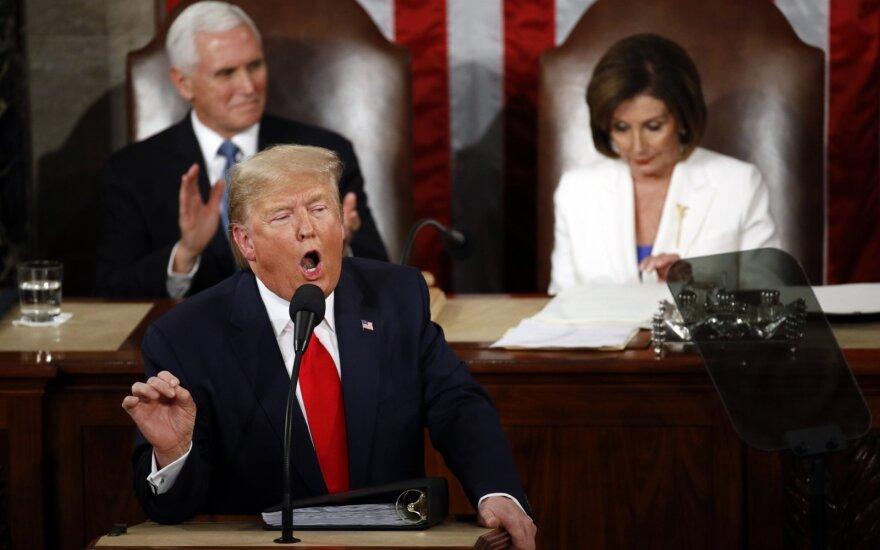 D.Trumpo metinis pranešimas