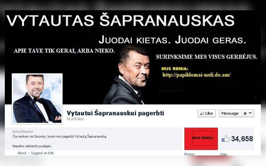 """Sukčių sukurta """"Facebook"""" paskyra"""