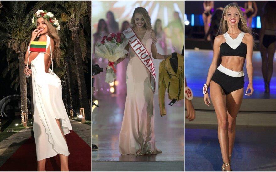"""Brigita Gaižauskaitė daltvavo konkurse """"Miss New World 2018"""""""