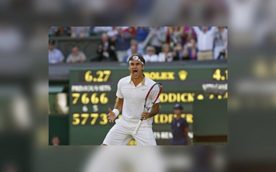 Федерер вновь стал первой ракеткой мира