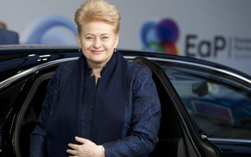 Грибаускайте: Украине требуется больше упорства в реализации реформ