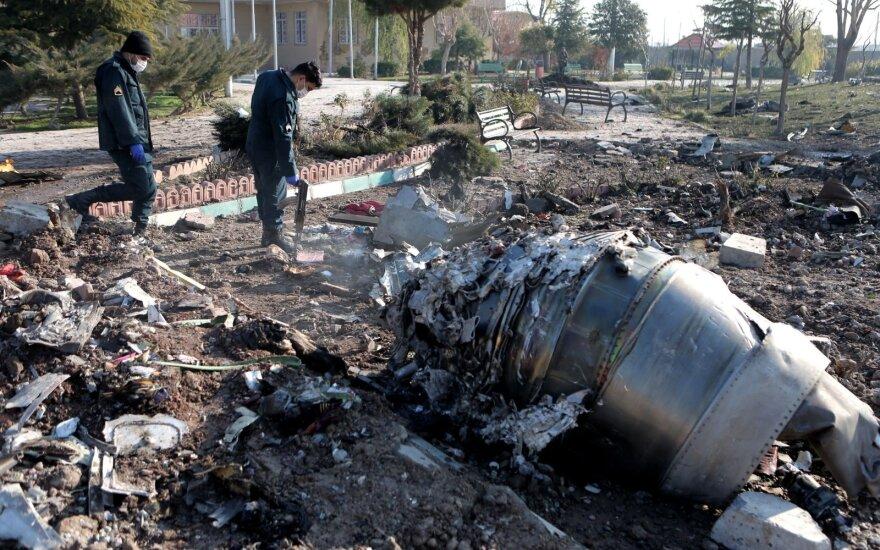 Украина удалила заявление о причинах крушения самолета в Иране