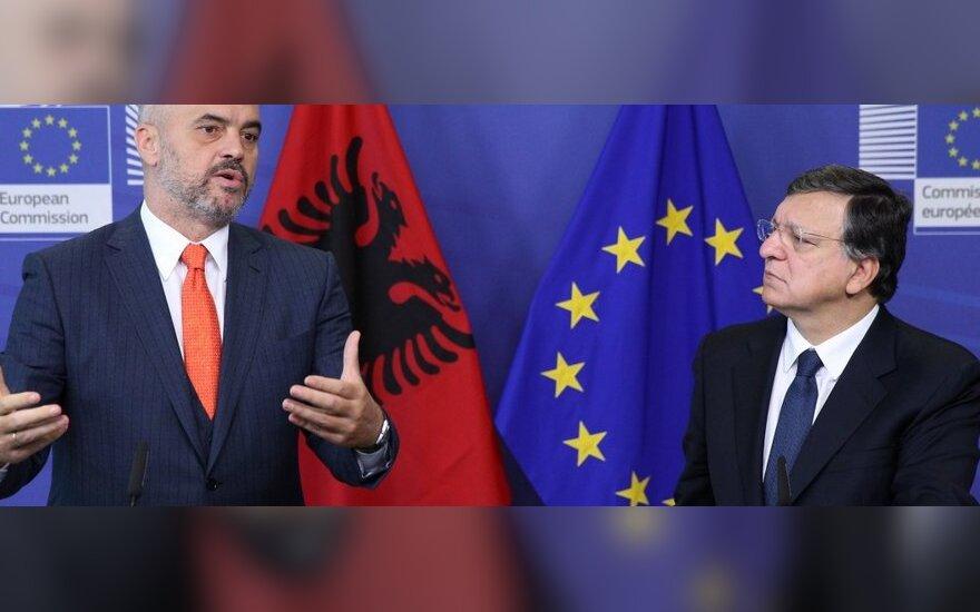 Albania zarekomendowana jako oficjalny kandydat do UE