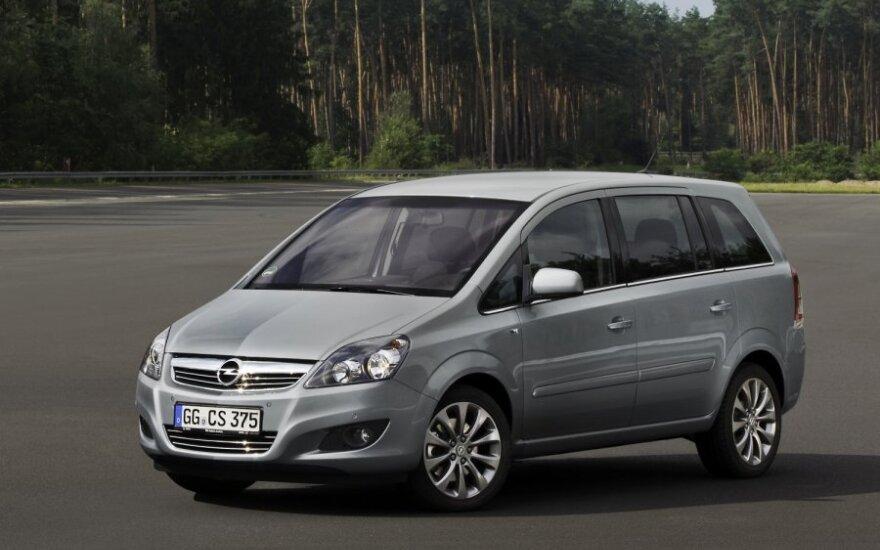 Opel будет выпускать сразу два поколения минивэна Zafira