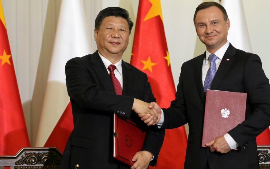 Xi Jinping, Andrzej Duda