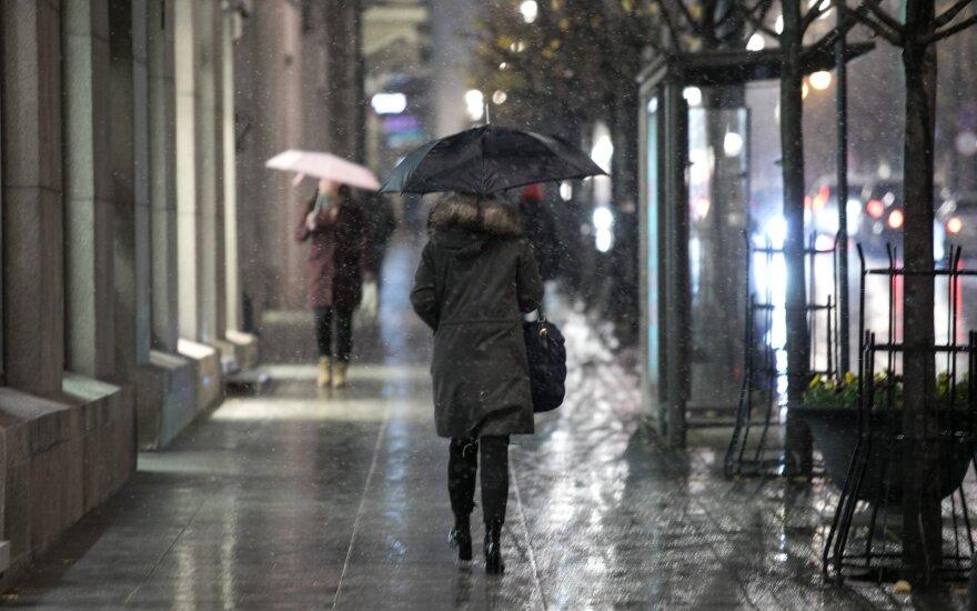 В Литве сильно похолодает, прогнозируют осадки