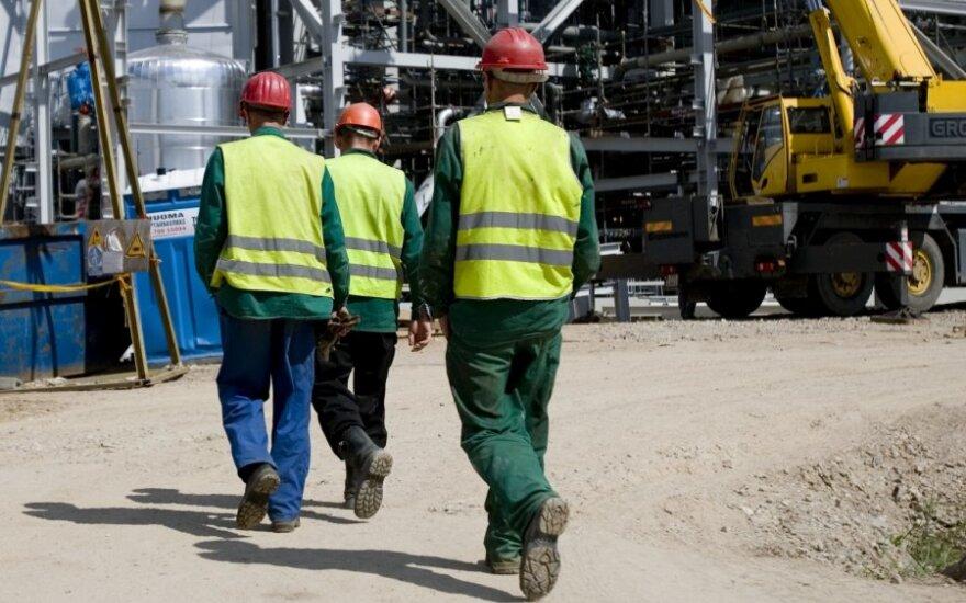 В Литве темпы роста зарплат различаются