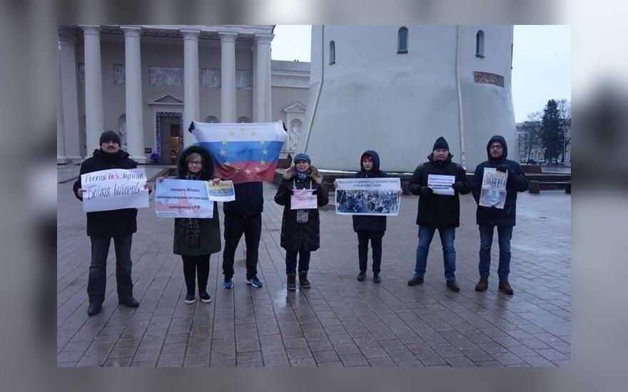 Вильнюс поддержал всероссийскую акцию за бойкот выборов