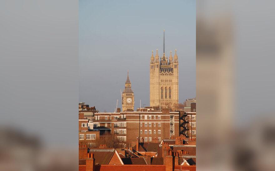 Londonas, Big Benas, Vestminsterio abatija