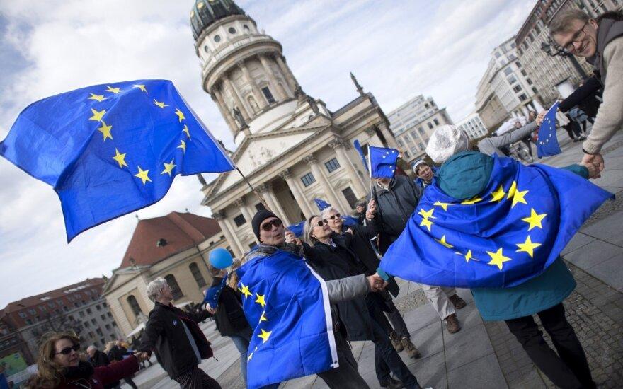 Оптимизм европейцев в отношении ЕС растет: показатель Литвы самый высокий