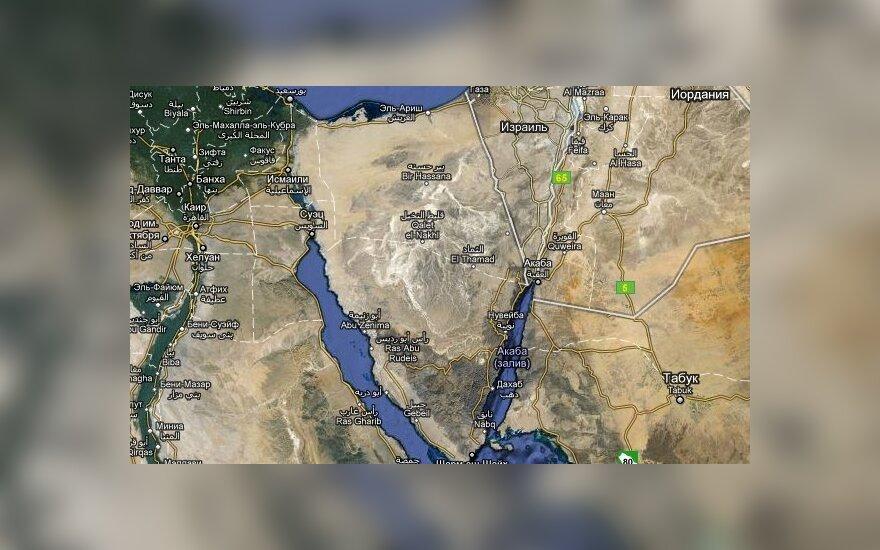 Израиль разрешил Египту ввести войска в Синай