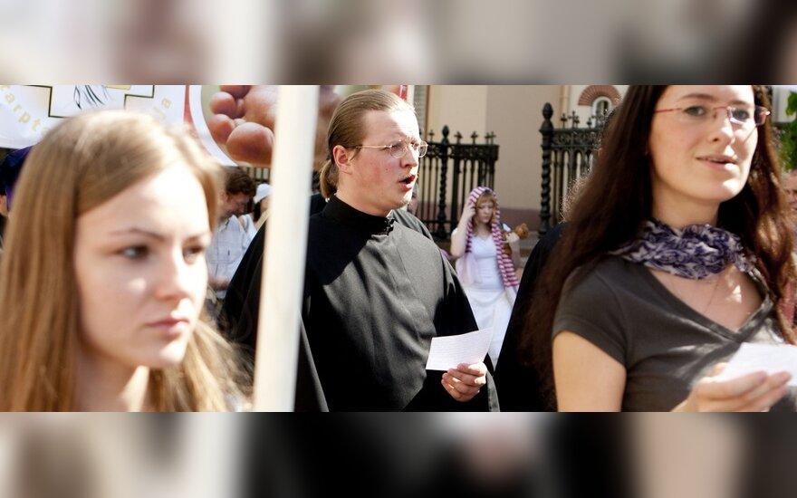 В Вильнюсе состоялось шествие против абортов