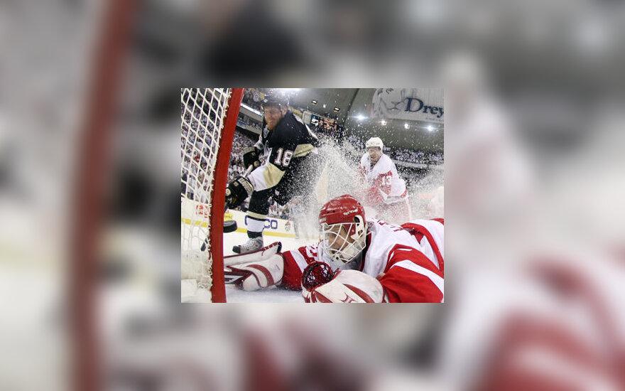 NHL rungtynių epizodas