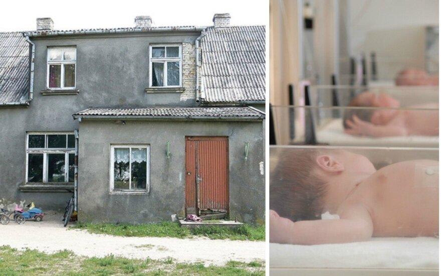 Daugiavaikė šeima gyvena čia
