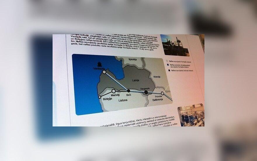 Россия резко сократит транзит нефтепродуктов по латвийскому трубопроводу