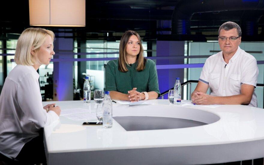 Kristina Pocytė, Laura Galdikienė, Rolandas Tučas