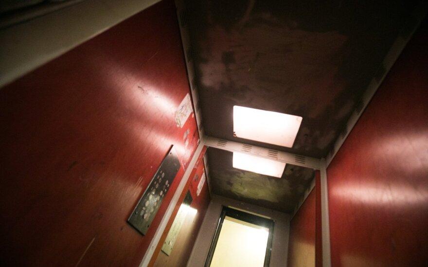 В Вильнюсе отключат тридцать лифтов