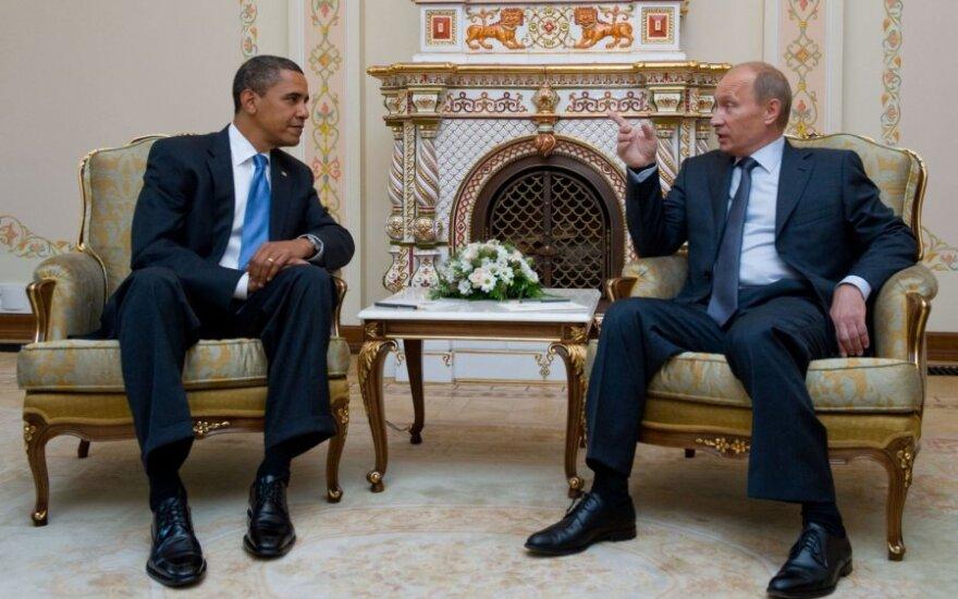 B. Obamos ir V. Putino susitikimas