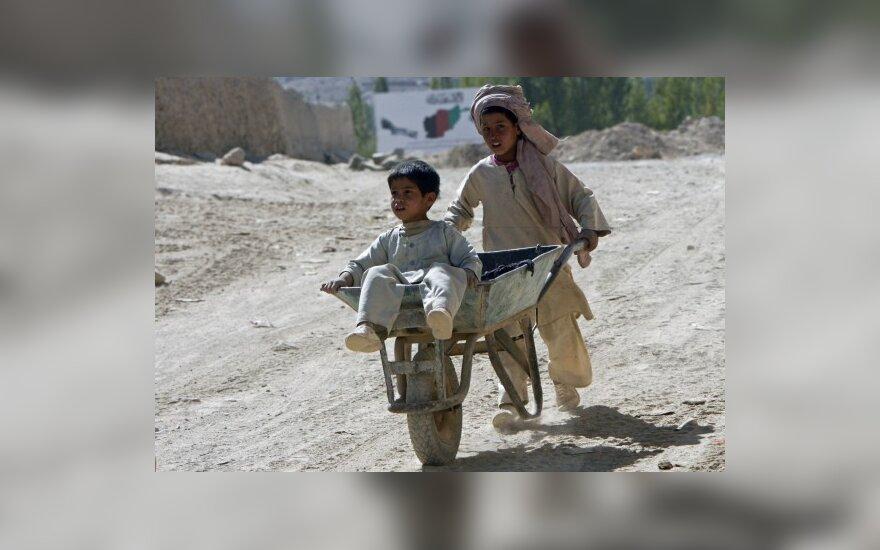 На деньги Литвы в Афганистане реконструировали школу