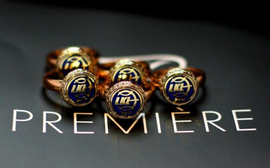 2012 metų LKL čempionų žiedai